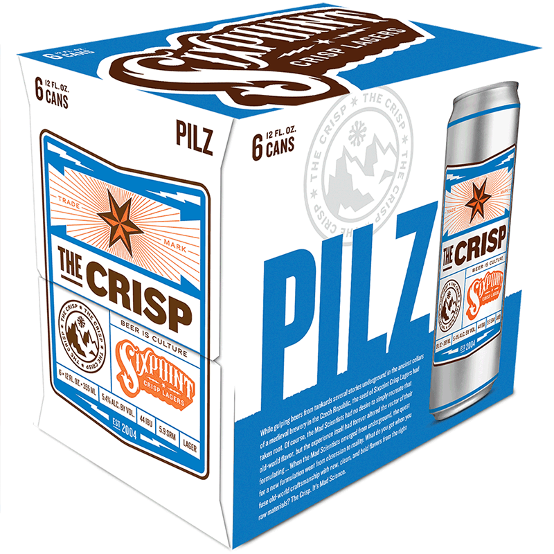WOLFFER ESTATE - THE CRISP - PILZ - (Can) - 12oz(6PK)