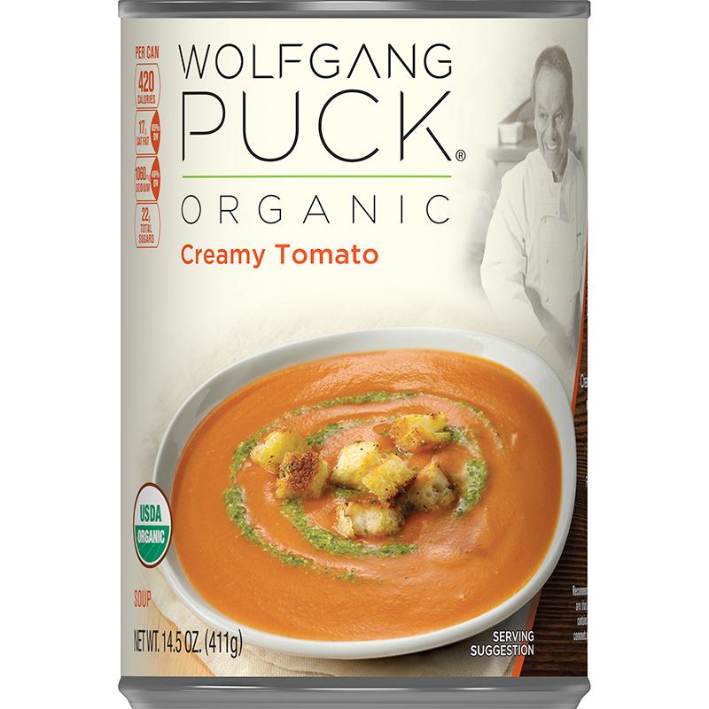 WOLFGANG PUCK - ORGANIC SOUP - (Creamy Tomato) - 14.5oz