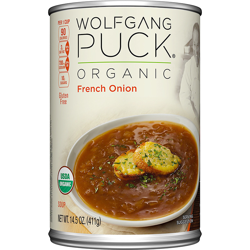 WOLFGANG PUCK - ORGANIC SOUP - GLUTEN FREE - (French Onion) - 14.5oz