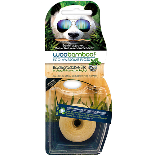 WOO BAMBOO - ECO AWESOME FLOSS - 37m