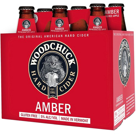 WOODCHUCK HARD CIDER AMBER - (Bottle) - 12oz(6PK)