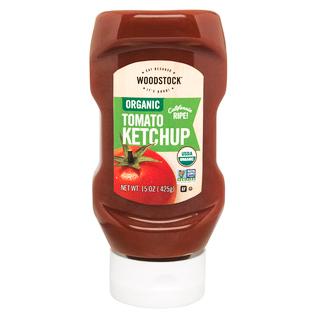 WOODSTOCK - ORGANIC TOMATO KETCHUP - NON GMO - 15oz