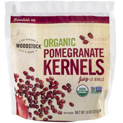 WOODSTOCK - ORGANIC POMEGRANATE KERNELS - NON GMO - 8oz