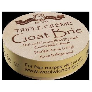 WOOLWICH - TRIPLE CREAM GOAT BRIE - 6.5oz
