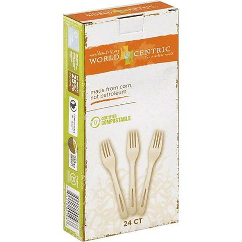 WORLD CENTRIC - FORKS - 24CT