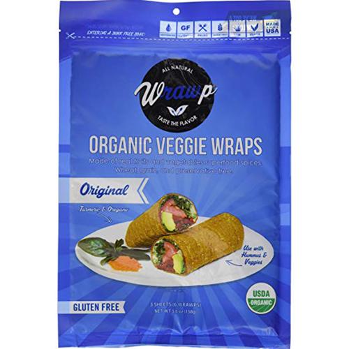 WRAWP - ORGANIC VEGGIE WRAPS - (Original) - 5.6oz