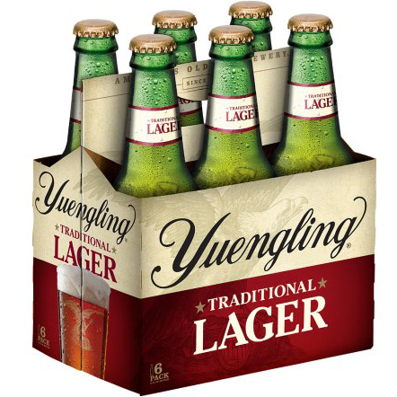 YUENGLING LAGER - (Bottle) - 12oz(6PK)