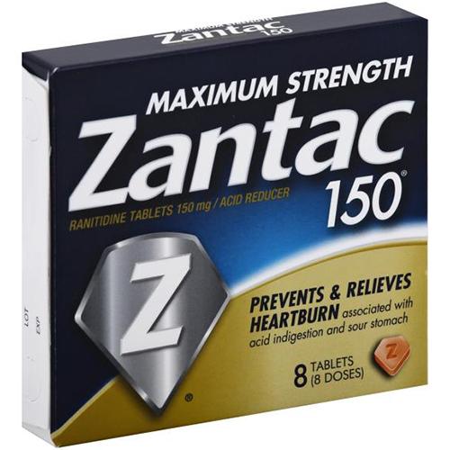 ZANTAC 150 - 8TABLETS