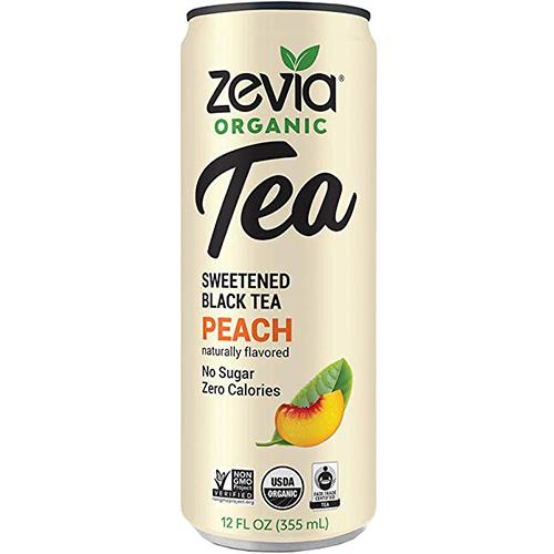 ZEVIA - TEA - (Peach) - 12oz