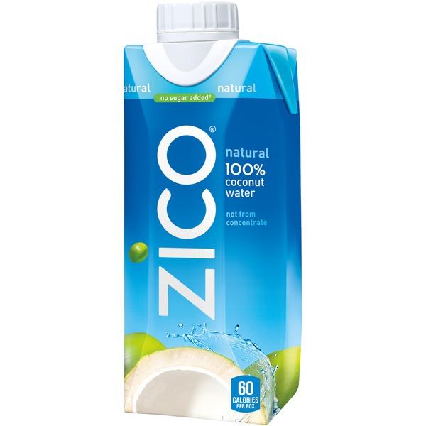 ZICO - 100% COCONUT WATER - NON GMO - GLUTEN FREE - 11.2oz