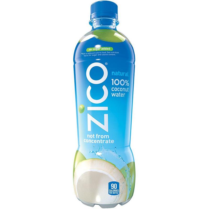 ZICO - 100% COCONUT WATER - NON GMO - GLUTEN FREE - 16.9oz