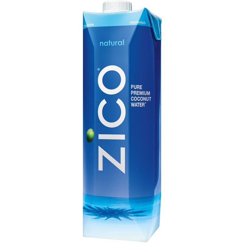 ZICO - 100% COCONUT WATER - NON GMO - GLUTEN FREE - 33.8oz