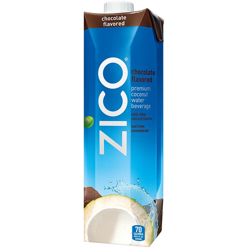 ZICO - 100% COCONUT WATER - NON GMO - GLUTEN FREE - (Chocolate) - 33.8oz