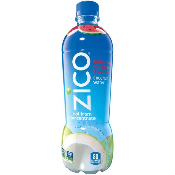 ZICO - 100% COCONUT WATER - NON GMO - GLUTEN FREE - (Watermelon Raspberry) - 16.9oz
