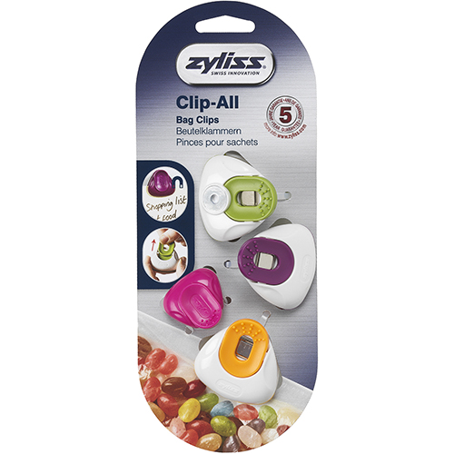ZYLISS - CLIP ALL BAG CLIPS